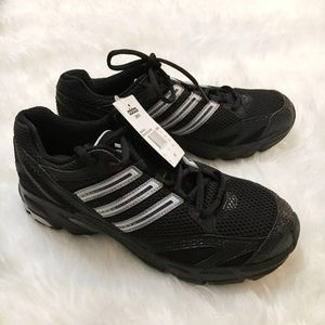 New Adidas Black Uraha Running Sneakers Size 9